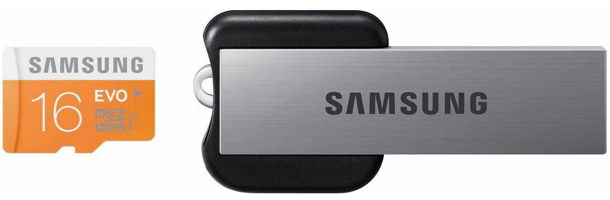Samsung EVO   16GB microSDHC Class 10 inkl. USB2 Adapter für 16,90€   wieder da!
