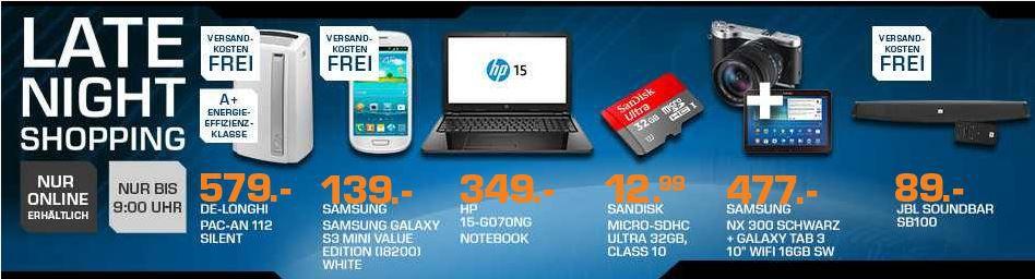 HP15 g070ng   15,6 Zoll Notebook ab 349€   und mehr Saturn Late Night Sale Angebote