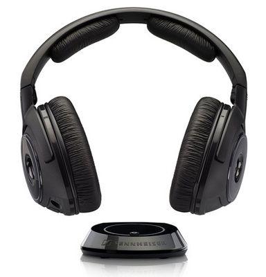 Sennheiser RS 160 Sennheiser RS 160 Digitales Funkkopfhörersystem (106 dB) mit kompakten Sender für 80€ (statt 120€)