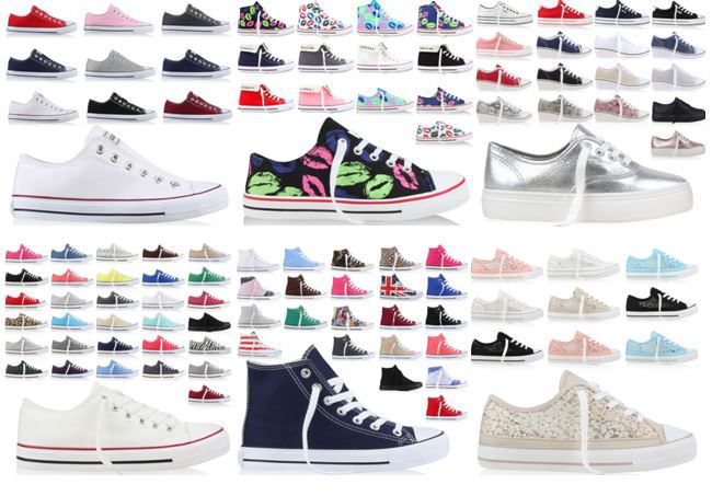 Sneaker NN Sneakers   Damen, Herren und Kinder verschiedene Modelle inkl. Versand je Paar nur 14,90€   Update!