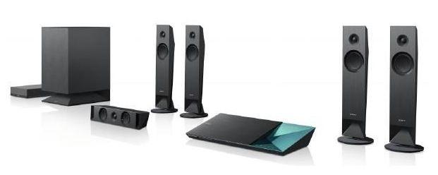 Sony BDV N7100WB   5.1 Heimkinosystem + 3D Full HD Blu ray Player mit WLAN und NFC ab 299€ (statt 495€)
