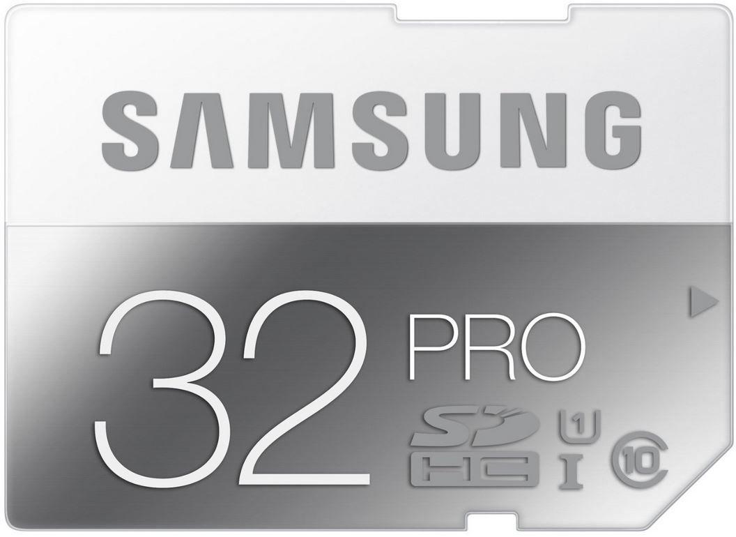 Speicher Samsung Memory 32GB PRO Class 10 Speicherkarte für 37,90€