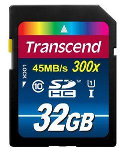 Transcend TS32GSDU1 Class 10 UHS I Premium SDHC 32GB Speicherkarte für 12,90€ (nur Prime Kunden)