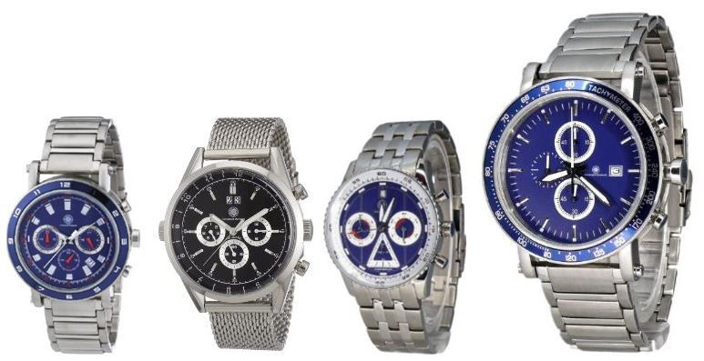 Constantin Durmont   verschiedene Herren Fashion Armbanduhren ab je 39€