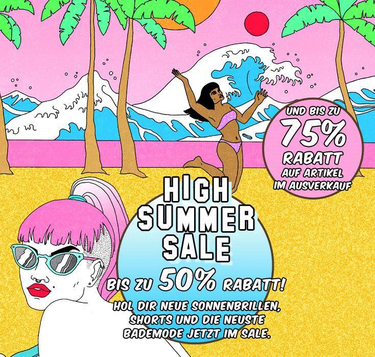 Urban Urban Outfitters   Summer Sale mit bis zu 50% Rabatt und 75% Rabatt auf Ware im Ausverkauf + Gutscheine