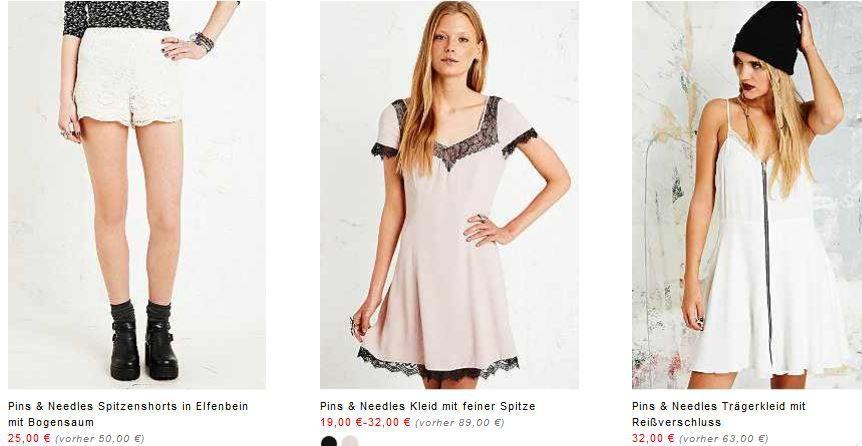 Urban3 Urban Outfitters   Summer Sale mit bis zu 50% Rabatt und 75% Rabatt auf Ware im Ausverkauf + Gutscheine