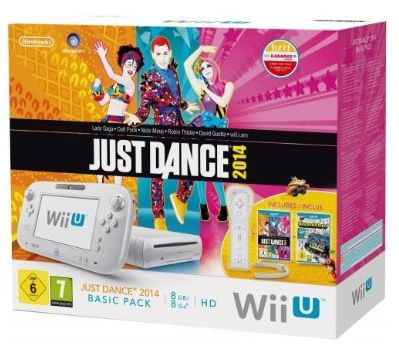 Wii U Basic 8GB mit Just Dance 2014 + Nintendo Land ab 214€ + 34,35€ in Superpunkte