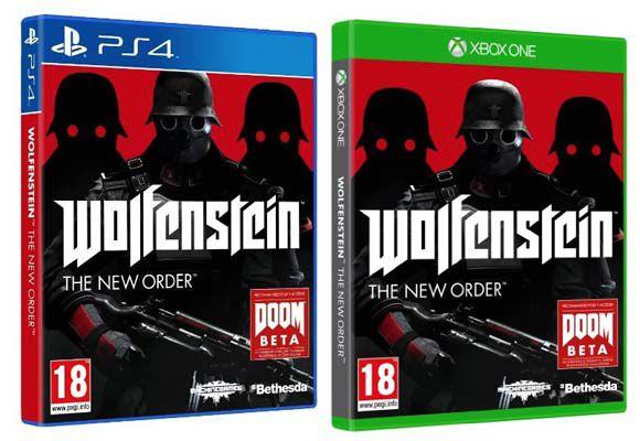 Wolfenstein: The New Order (PS4 und Xbox One) für ca. 28,55€