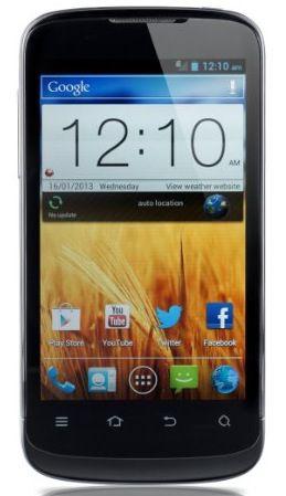ZTE Blade III Android Smartphone (4 Zoll, 5 MP, 1.0 GHz Qualcomm Prozessor) für 63,20€