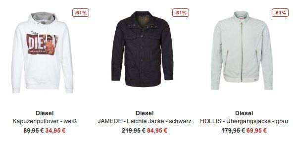 Zalando Diesel Sale Diesel Sale bei Zalando   bis zu 70% Rabatt auf knapp 300 Artikel
