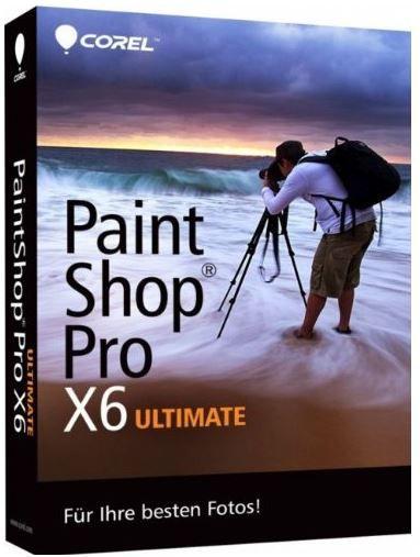 Corel PaintShop Pro X6 Ultimate Win   Bildbearbeitung für 35€