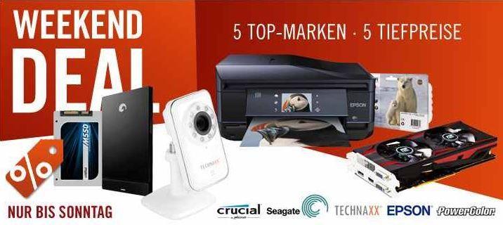 cyberweekend4  EPSON Expression Premium XP 810 Drucker für 185€ und mehr Cyberport Weekend Deals