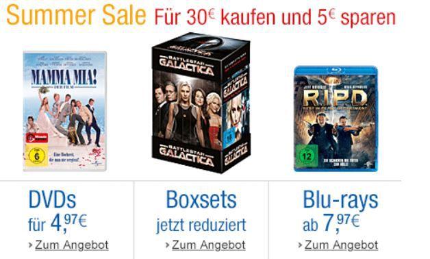 3 Blu rays für 20€ und mehr Amazon DVD und Blu ray Angebote   Update