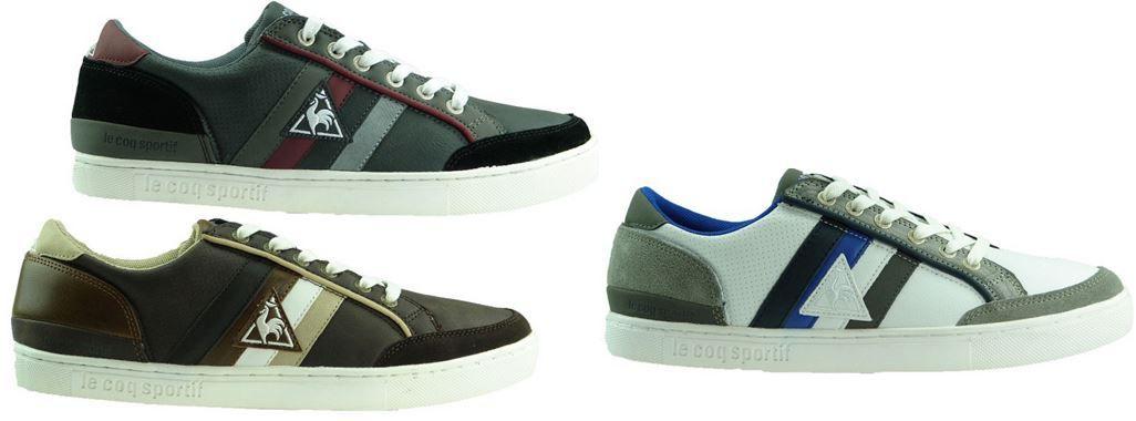 Le Coq Sportif Eloi   Herren Low Lace SR Sneaker je Paar für 19,99€   Update