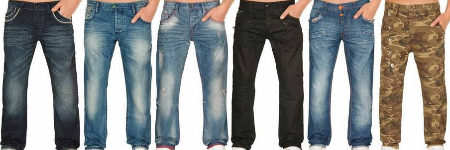 Cipo & Baxx Herren Regular & Slim Fit Jeans für je 34,99€