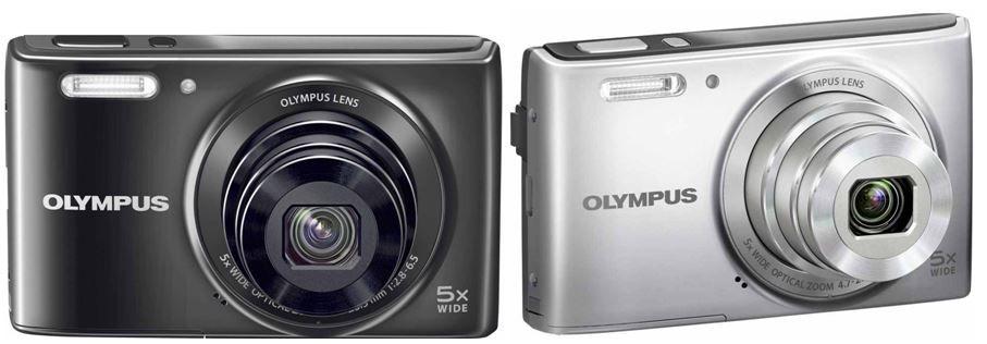 Olympus VG 165   14MP Digitalkamera in silber oder schwarz für je 59€