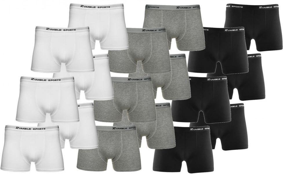 ebay14 RUMBLE SPORTS Boxershorts im 6er Pack für 14,99€ inkl. Versand