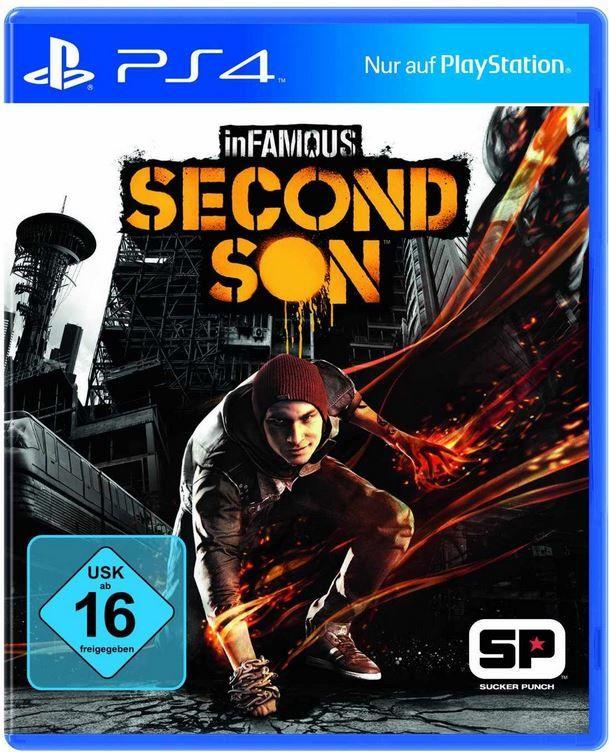 ebay5 inFAMOUS: Second Son   Playstation 4 Game für 29,77€