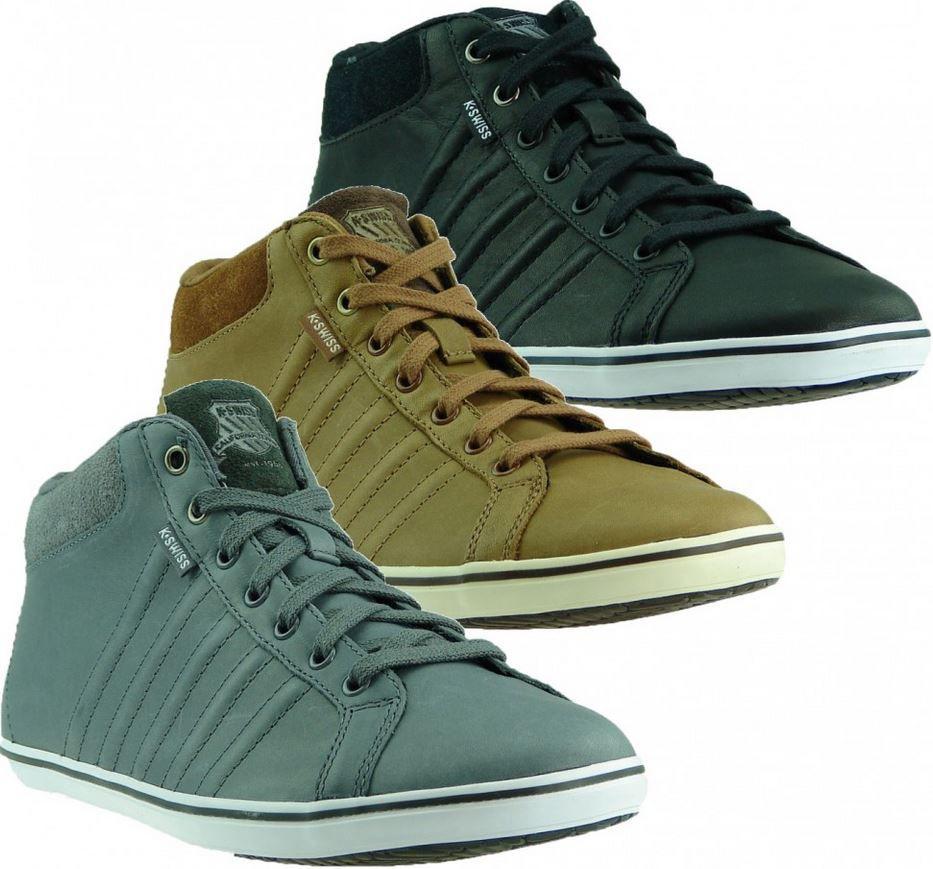 K SWISS Hof Mid   Herren Sneaker in drei Farben für je Paar 30,99€ inkl. Versand