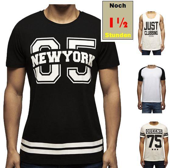 Jack and Jones Herren T Shirts oder Tank Top für je 8,90€ inkl. Versand