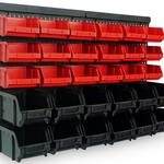 Wandregal mit Stapelboxen 32-teilig für nur 16,95€