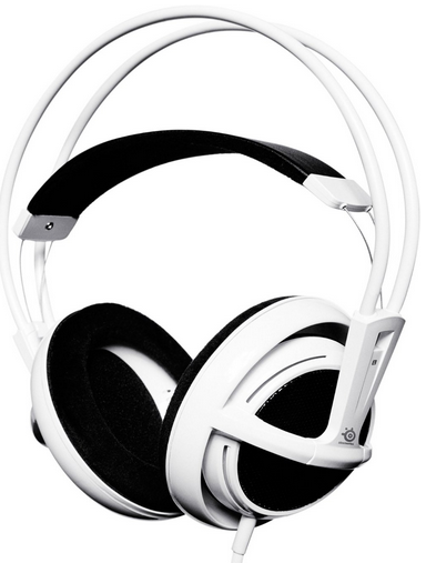 SteelSeries Siberia Full Size Gaming Headset weiß für 24,90€