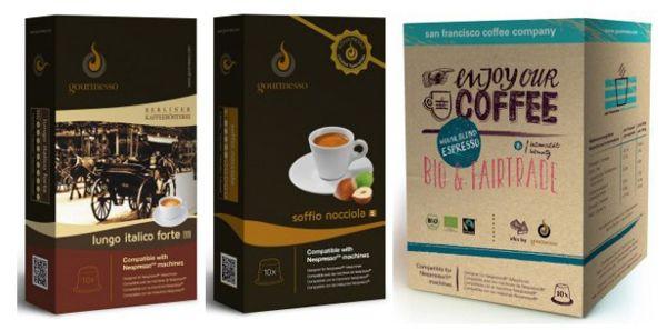 KNALLER! Günstige Kaffeekapseln für Nespresso Maschinen dank 20% Gutschein ohne MBW