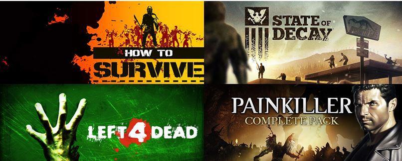 Zombiegames mit 75% Rabatt bei Greenmangaming z.B. How to Survive für 6,99€ im Download