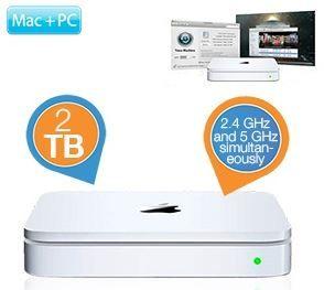 Apple Time Capsule MD032 mit eingebauter 2TB HDD für 155,90€