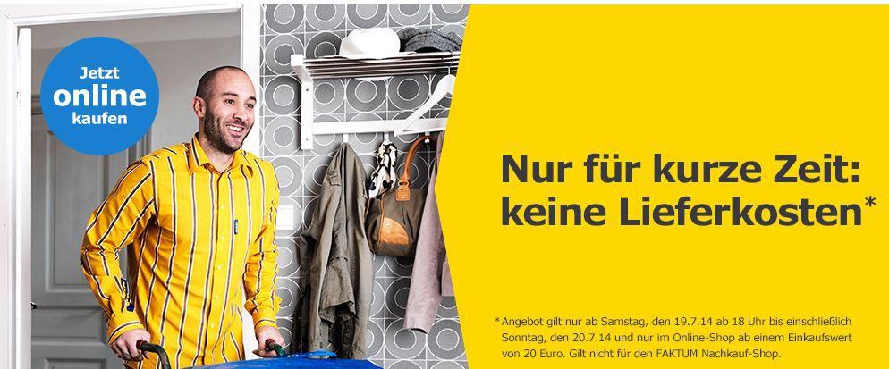 ikea Tipp! Heute Versandkosten frei bestellen beim IKEA Onlineshop   Update!