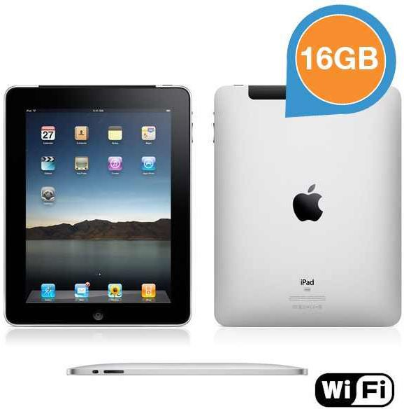 Apple iPad1   16GB Wifi – Refurbished by Apple für 125,90€