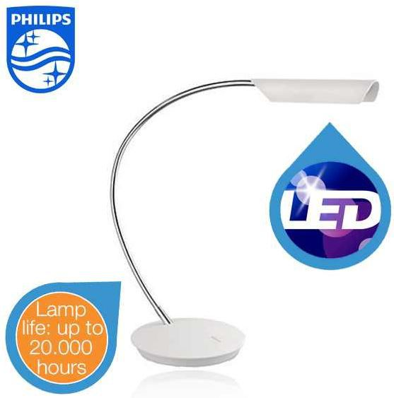 ledino Philips Ledino LED Tischleuchte für 45,90€   wieder da!