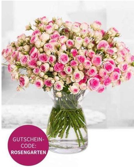 miflora Miflora Blumenstrauß Bijou   Rosen Rallye   aktuell 60Stück für 15,80€ inkl. Versand   Update