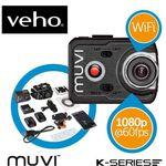 Veho Muvi K2 – FullHD WiFi Action Cam mit Zubehör für 165,89€ (statt 200€)