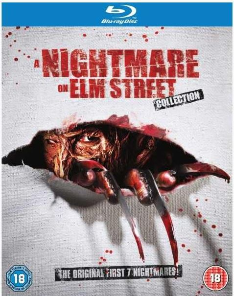 night  Nightmare on Elm Street 1 7 Blu ray Collection Box für 17,32€