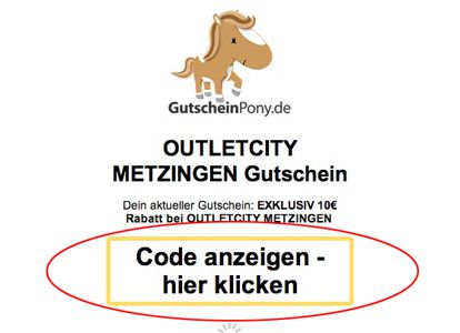 Exklusiv: 10€ Gutschein für Outletcity mit 69€ MBW