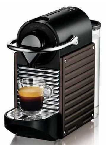 Krups XN3008 Nespresso Pixie dunkelbraun für 89€