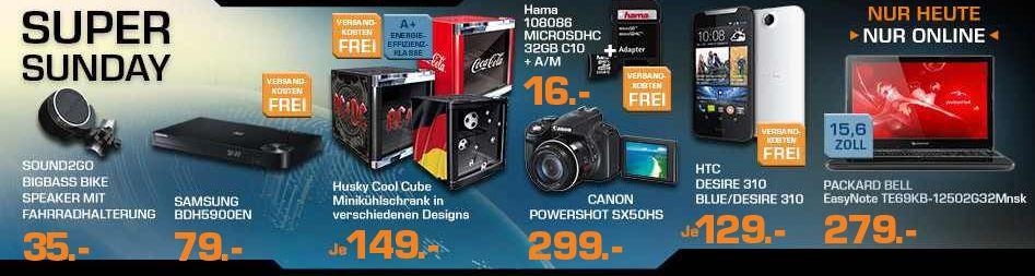 saturn1 CANON Power Shot SX 50 HS   12MP Digitalkamera ab 299€ und mehr Saturn Super Sunday Angebote