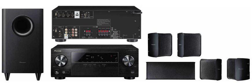 Pioneer Heimkino Set HTP 072 inkl. VSX 323 + Lautsprecherset für 229€ statt 279€