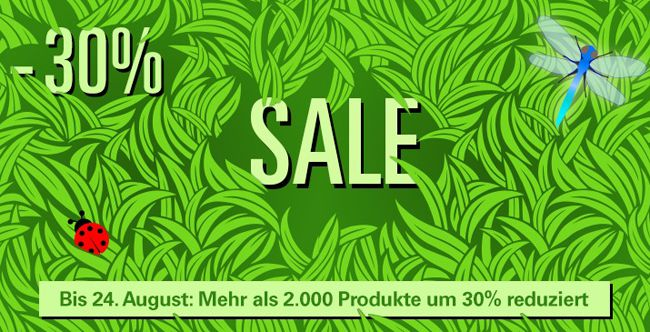 30% Rabatt auf ausgewählte Produkte bei Allyouneed + 5€ Gutschein