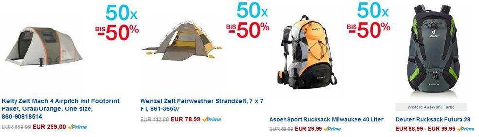 Deuter Futura 28   Rucksack statt 104€ für 88,89€ bei den Amazon 50 Sport Bestsellern mit bis zu 50% Rabatt