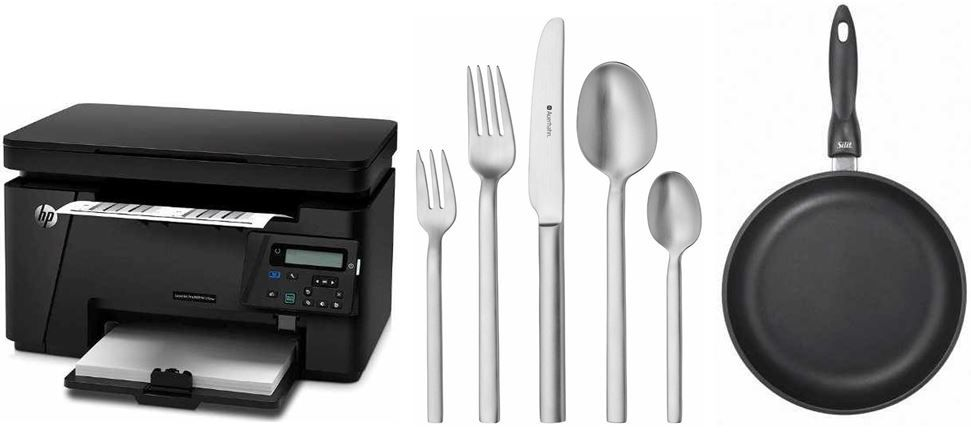 Amazon 21 HP LaserJet Pro M125nw   Laser Mufu Drucker mit 40€ Cashback bei den 35 Amazon Blitzangeboten