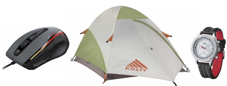 Kelty Grand Mesa 3   3 Personen Zelt für 124,99€ und weitere 25 Amazon Blitzangebote