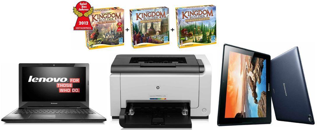 Amazon 28 HP Color LaserJet Pro CP1025nw Farblaserdrucker bei den 29 Amazon Blitzangeboten