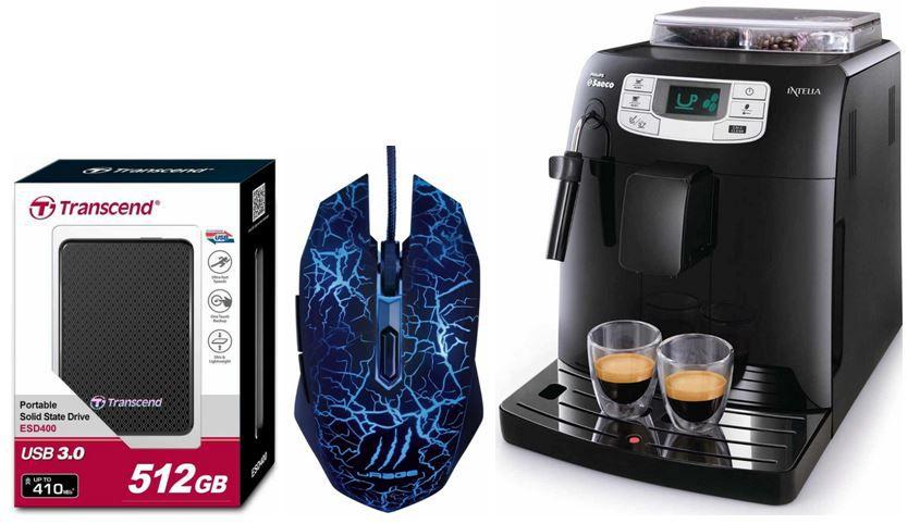 Saeco HD8751/11 Kaffee Vollautomat und weitere 8 Amazon Blitzangebote