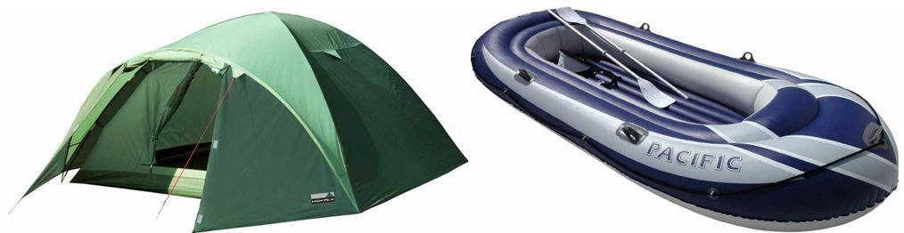 Neu! High Peak Zelt Nevada für 44,99€ und mehr bei den täglichen Amazon Outdoor Blitzangeboten