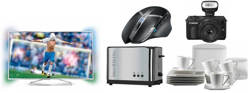 Amazon Angebot22 Philips 40PFK6609/12   40 Zoll 3D Ambilight TV für 549€ und weitere 16 Amazon Blitzangebote