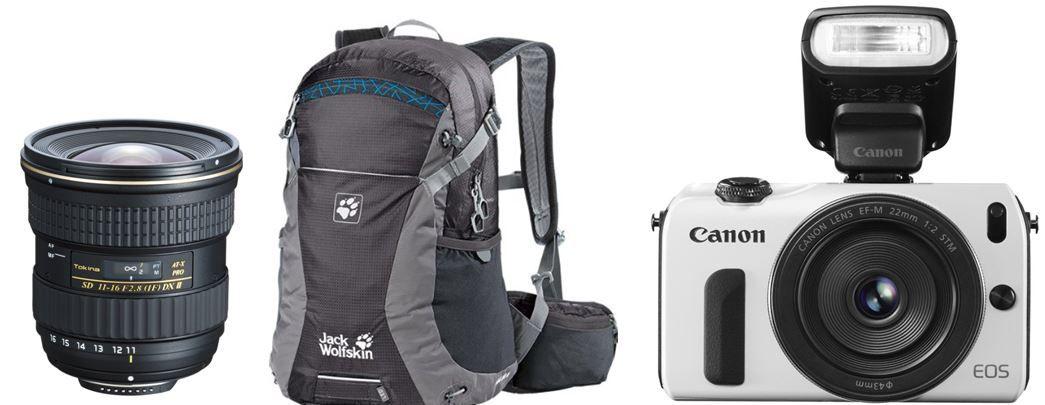 Amazon heute30 Canon EOS M kompakte 18 MP Systemkamera für 399€ und weitere 16 Amazon Blitzangebote