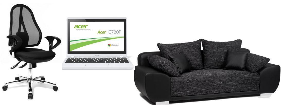 Amazon heute37 Schreibtische, Stühle, Betten, Sofas und mehr bei den 56 Amazon Blitzangebote ab 18Uhr