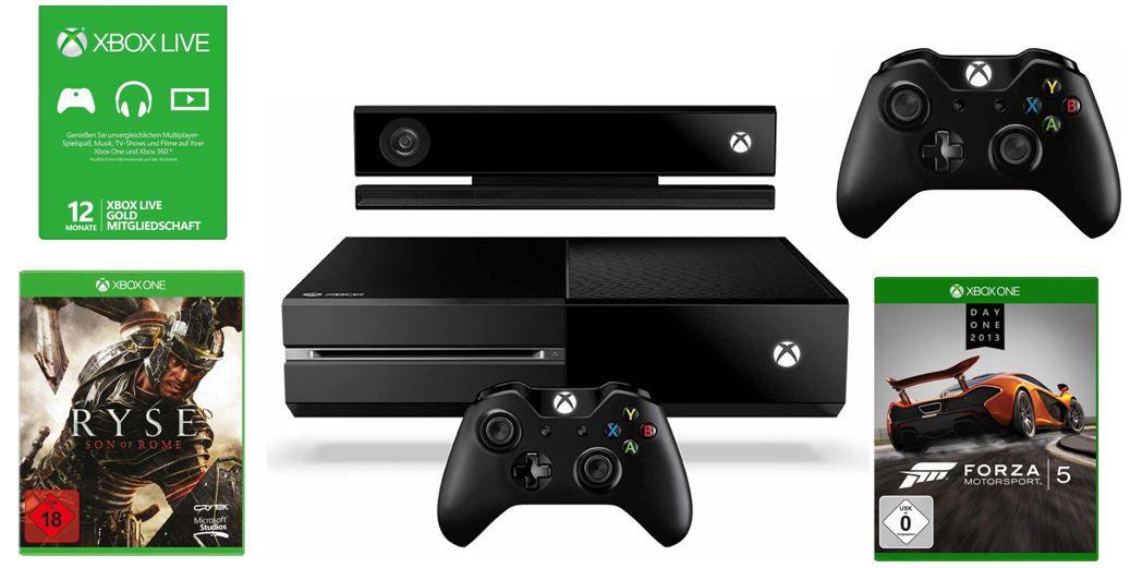 Xbox One Konsole + Kinect für 399€ + mehr beim Tag 5 der Amazon Gamescom Angebote
